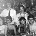 сверху - Моторин А. и Старостина Л., внизу Алексеева Н., Моторина А., Елькина Л., Дерюга С. Новый год 1988-89 г.