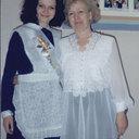 Я и моя первая учительница Шнайдер Светлана Алексеевна.