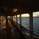 2010 год. на теплоходе, по пути от Курейки до Игарки, утро