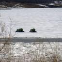 2012 год. судна на воздушной подушке, в период паводка заменяют паромную переправу