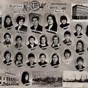 """Игарская школа №9, 8 """"В"""" класс, <br />1975-1976 уч.год."""
